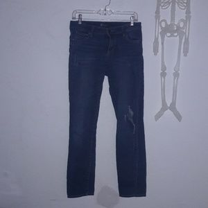 Kut from the kloth skinny jeans 0 distressed